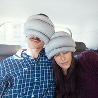 Wholesale Wholesale Ostrich Pillows - Wholesale- Multi-Function Ostrich Collar Head Nap Pillows Sleep Patch