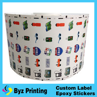 Wholesale Vinyl Wrap Prints - custom design soap wrap sticker label printing vinyl household products package labels roll self adhesive private label
