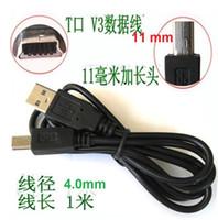 Wholesale Mini Pin B - Mini 5pin cables 100cm 1m 3ft Mini USB cable 5 PIN usb to mini 5p cable OD4.0 Pure Copper Core USB 2.0 A to Mini B 5pin Mini 5pin USB Cable