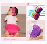 Wholesale Ruffle Pants For Infants - Wholesale-Infant Toddler Girls Diper Cover Ruffled Panties Baby Girls For Lovely Newborn Baby Shorts Pant Bloomers 14colors Free Shipping