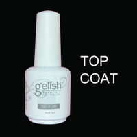 Wholesale Top Coats Nails - 2pcs set(1 Base Coat+1 Top Coat)Soak Off Foundation Base Coat & Top Coat For LED UV Gel Nail Polish