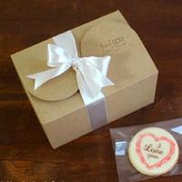 Wholesale Moon Cake Paper Box - Kraft paper box moon cake box, cake box, the west point and etc. 30pcs lot