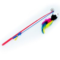 Wholesale Large Breed Cat - Teaser Play Wand Tickle Stick With Dangle Mice and Small Bell, False Mouse Funny Cats Stick Cat Pet Dog Play Toys Products