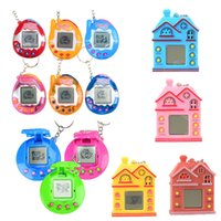 Wholesale novelty electronics gift for sale - Group buy Novelty Toys Vintage Retro Game Pets In One Virtual Pet Cyber Tamagotchi Electronic Digital Pet Child Toy Kids Christmas Gift