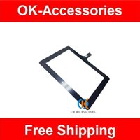Wholesale Ainol Touch Screen - 1PC  Lot For Ainol Novo7 Novo 7 Touch Panel Touch Screen Digitizer Black color Free Shipping