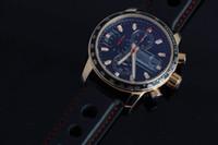 Wholesale Miglia Watch - High Quality Classic Black Genuine Leather Watch Strap Miglia Mens Quartz Watch Grans Turismos GTS XLS Luxury Rose Gold Wristwatches For Men
