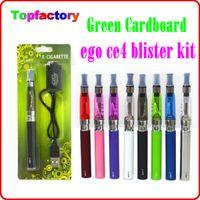 Wholesale Ego Kit Set Ce4 - CE4 eGo Blister Pack Set CE4 Atomizer 1.6ml 2.4ohm CE4 Clearomizer 650mah 900mah 1100mah Electronic Cigarette colorful battery ego kit DHL