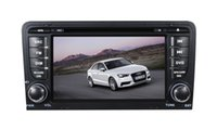 Wholesale Dvd Screen Audi - 7 inch LCD-TFT touch screen two din car DVD player for AUDI A3 with GPS and Bluetooth