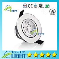 yüksek güçlü spotlar toptan satış-CE Yüksek güç Led tavan lambası 9 W 12 W Led Ampul 110-240 V spot aydınlatma ampul aşağı led ışıkları downlight spot sürücü ile
