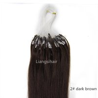 insan saçı mikro döngüler uzantısı toptan satış-Brezilyalı Saç Demetleri 16