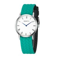 Wholesale silicone watches for women resale online - Brand New Style Christmas Gift Colors Rebirth Silicone Watchband Watch Wristwatch For Man Woman Couple