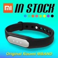 Wholesale Miui Stock - IN STOCK! 100% Original! 2015 Newest Xiaomi MiBand , Smart Xiaomi Mi band Bracelet For Android 4.4 IOS 7.0Xiaomi MI4 M3 MIUI A5