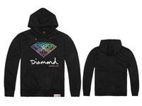Wholesale Diamond Star Neck - Autumn and winter fleece diamond supply co GRIZZLY GRIP Star Diamond hip-hop hoodies,diamond supply co clothing.diamond hoodie