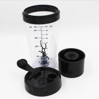 copo de mistura automático do café venda por atacado-Moda Portátil Misturando Tumblers Proteína Em Pó Milkshake Café Strring Cup Preguiçosos Copos Elétricos de Plástico Automático Fácil de Transportar 32gf B