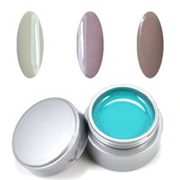 Wholesale Uv Gel Builder Big - Wholesale- Gel Len Pure Color UV Gel 3 Colors Nail Art Tips Manicure UV Builder Gel for Nail Art Hot Sale Big Promostion