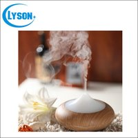 Wholesale Wholesale Ultrasonic Aroma Diffuser Ionizer - Ultrasonic Air Humidifier Aroma Oil Diffuser Ionizer Generator Aromatherapy Office Purifier Wood Grain Aroma Diffuser Mist Maker