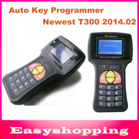 Wholesale Key Code Transponder - Wholesale-2015 Newest V2014.02 T-Code T-300 T300 Key Programmer For Multi-Cars T 300 Auto Transponder Key By Read ECU-IMMO