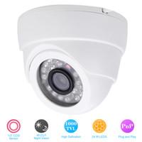 Wholesale Track Security Mini Camera - 1 3 CCD 1000TVL Indoor Security CCTV camera 24IR LED Home Video Surveillance HD Night Vision Video Mini Dome Camera order<$18no track
