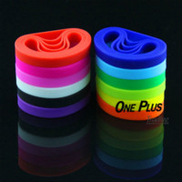 Wholesale Silicone Bracelet Plain - 1OOPCS LOT Wholesale Plain Silicone Rubber Bracelet Wristband Bangle Cuff Band.Promotion Gifts rubber bracelet wristband promotion gift