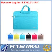 Wholesale Hp Computer Wholesalers - Slim Laptop Travelling Handbag Sleeve Bag for Macbook Air Pro Retina 11 13 15 inch Dell HP Lenovo Computer PC Zipper Bags factory price