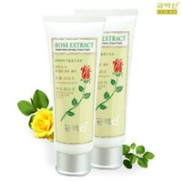 Wholesale-2pcs / lotto Trasporto libero Skin Care Products CO.E oliva Rosa che imbianca Marca Face Wash bellezza profonda Rinfrescante Viso 120g Cleanser
