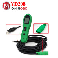 Wholesale audi electric - New Autek PowerScan YD208 Electric Check Meter of Circuit Fail for Automobile Circuit Tester High quality Power Scan YD 208