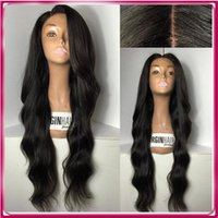 Wholesale Cheap Long Half Wigs - Cheap Hot sale Brazilian Human Long water ripple Hair Full Lace Wig Hot Selling Woman Hair Human Wig