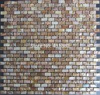 telha de material venda por atacado-Mosaicos de conchas naturais 10x20x2MM; madrepérola; telhas do backsplash da cozinha; telhas da parede do banheiro, decoram o material