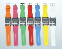 Wholesale Choice Silicone Watch - Wholesale-9 Colors For Your Choice iwatchz Q Collection Silicone Wrist Watch Strap Soft Case Cover for iPod Nano 6 6g 6th Gen Generation
