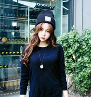 Wholesale Korea Fashion Street Wholesale - Man Women Warm Hat Fashion Simple South Korea Style Ear Muffs Head Hat Knitted Caps Wool Female Stylish Winter Cap Christmas M5