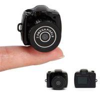 Wholesale Small Hd Dvr Camera - Smallest Mini Digital Dslr DV Video Recorder Camera Web Cam DVR Camcorder Hd Mini Dv 1280x720 Y2000