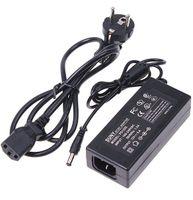 elektrik şeritleri toptan satış-LED Şerit Işığı için Güç Kaynağı 5050 3528 5630 100-240V 12V 5A 60W Güç Adaptörü Router HUB Transformatörler ABD AB UK AU fiş DHL Gemi