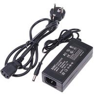 router dhl großhandel-Netzteil für LED-Lichtleiste 5050 3528 5630 100-240V 12V 5A 60W Netzteil Router HUB Transformatoren US EU UK AU Stecker DHL Schiff