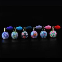 Wholesale China Empty Bottle - Free shipping 15ml China Style Cute Lovely Airbag Atomizer Perfume Bottles &Empty Parfum Case With Colorful 20171106