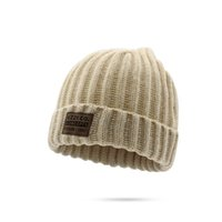 Wholesale Padded Hat - Universal Ladies warm autumn and winter hat Korean version of the thick padded hat plus wool knit hat