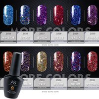 Wholesale High Art Nail - High quality soak off VIP Diamond nail gel LED UV gel nail polish nail art nails 36 colors Super shine SUPER PRETTY