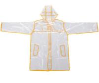 Wholesale Wholesale Jackets Rainwear - New EVA Transparent Raincoat With Belt Long Raincoat for Women Waterproof Jacket Windbreaker Rain Poncho Outdoors