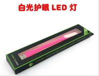 usb küçük klavye toptan satış-UBS LED Taşınabilir Lamba Dizüstü Küçük Gece Lambası USB Masa Lambası Perakende Kutusu Ile Led Mini Işık Bilgisayar Dizüstü Klavye Işık ...