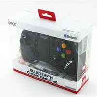 Wholesale Ipega Joystick Game Controller Android - Ipega PG9021 Wireless Bluetooth Game Controller Gamepad Joystick for Smartphones Tablet IOS Phone Pad Android 3.2 iPod D3365A Wholesale