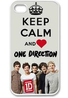 Wholesale Hard Case Iphone One Direction - New Love One Direction Boy Band 1D Hard Plastic Mobile Phone Case Cover For Iphone 4 4S 5 5S 5C 6 6 Plus