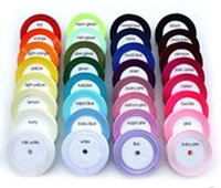 Wholesale Ribbon 6mm - 250yards Satin Ribbon in Multiple Colours- 6MM,10mm 15mm 20MM 25mm 38mm Various Colours .Wedding decoration.Gift Wrapping.