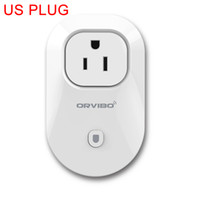 Wholesale Orvibo S20 Wifi Cell Phone Power Socket Wireless Timer Switch Wall Plug Phone Wireless Remote Control Home Appliance Automation