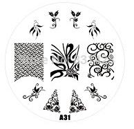 Wholesale Manicure Beauty Care Images - Wholesale-2015 new A Series A31 Nail Art Polish DIY Stamping Plates Image Templates Nail Stamp Stencil Manicure Care Beauty Designs Tools
