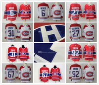 2017- 2018 New Season Montreal Canadiens Jerseys Carey Precio Shea Weber Max Pacioretty Alex Galchenyuk Jonathan Drouin Hockey Jersey