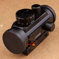 Wholesale Shotgun Sight Green Dot - 1X30 Tactical Holographic Red Green Dot Riflescope Sight Scope for Shotgun Rifle Hunting