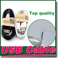 Wholesale S3 Piece - S5 Cable Micro USB Charger Cable S4 Cables 3.0 Sync Data Wire 1M 3FT 500 Pieces For Samsung Note2 S3 NOTE4 3 HTC M8 Huawei Lenovo Blackberry