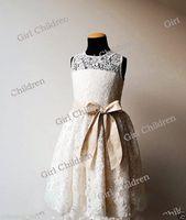 Wholesale Bridesmaid Dress Flower Details - Details about New Flower Girl Princess Dress Kid Party Pageant Wedding Bridesmaid Tutu Dresses