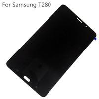samsung galaxy tab wifi venda por atacado-Nova T280 Display LCD Digitador Da Tela de Toque Para Samsung Galaxy Tab A 7.0 T280 WiFi DHL