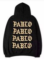 hoodies kadın xxxl toptan satış-Erkekler kadınlar için kazak hoodies uzun kollu kapşonlu hip hop sonbahar casual en tişörtü S-XXXL, Beyaz Siyah