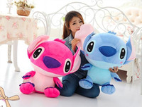 Wholesale Stitch Dolls For Sales - Hot Sale Fashion 30cm plush toy doll cute doll Lilo Stitch Stitch birthday gifts Christmas gifts for children